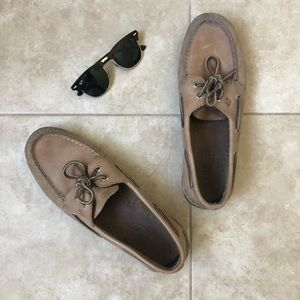 Men's Tan Sperry's